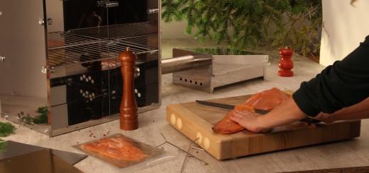 Faire du saumon fumé