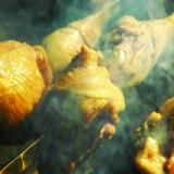 Poulet à chaud